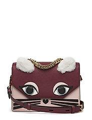 KARL LAGERFLED-Klassik Fun Mini Handbag - WINE