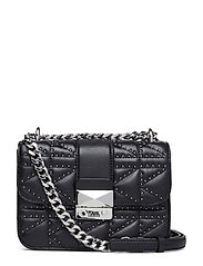Kuilted Studs Crossbody - BLACK