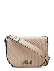 Signature Quilted  Shoulderbag - BEIGE