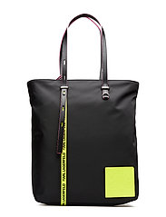 Neon Shopper - BLACK
