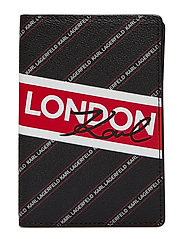 City Passport Holder London - BLACK
