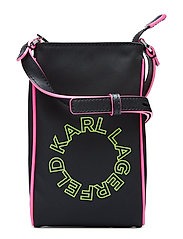 Neon Super Mini Crossbody - BLACK
