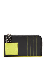 Neon Card Holder - BLACK