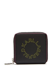 Neon Small Wallet - BLACK