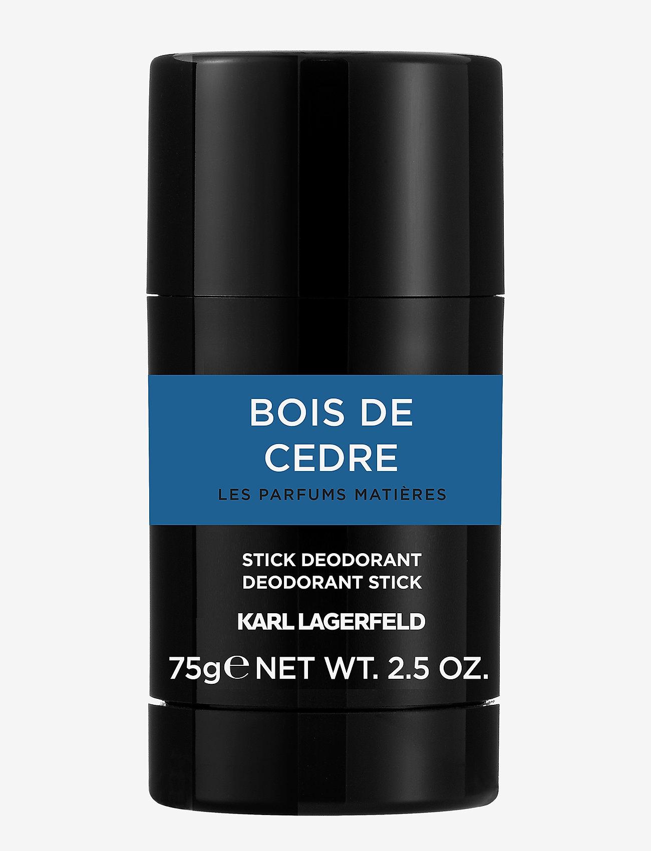 Karl Lagerfeld Fragrance - PARFUMS MATIERES BOIS DECÉDRE DEODODANT STICK - deostift - no color - 0