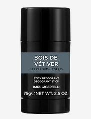 Karl Lagerfeld Fragrance - PARFUMS MATIERES BOIS DEVÉTIVER DEODORANT STICK - deostift - no color - 0