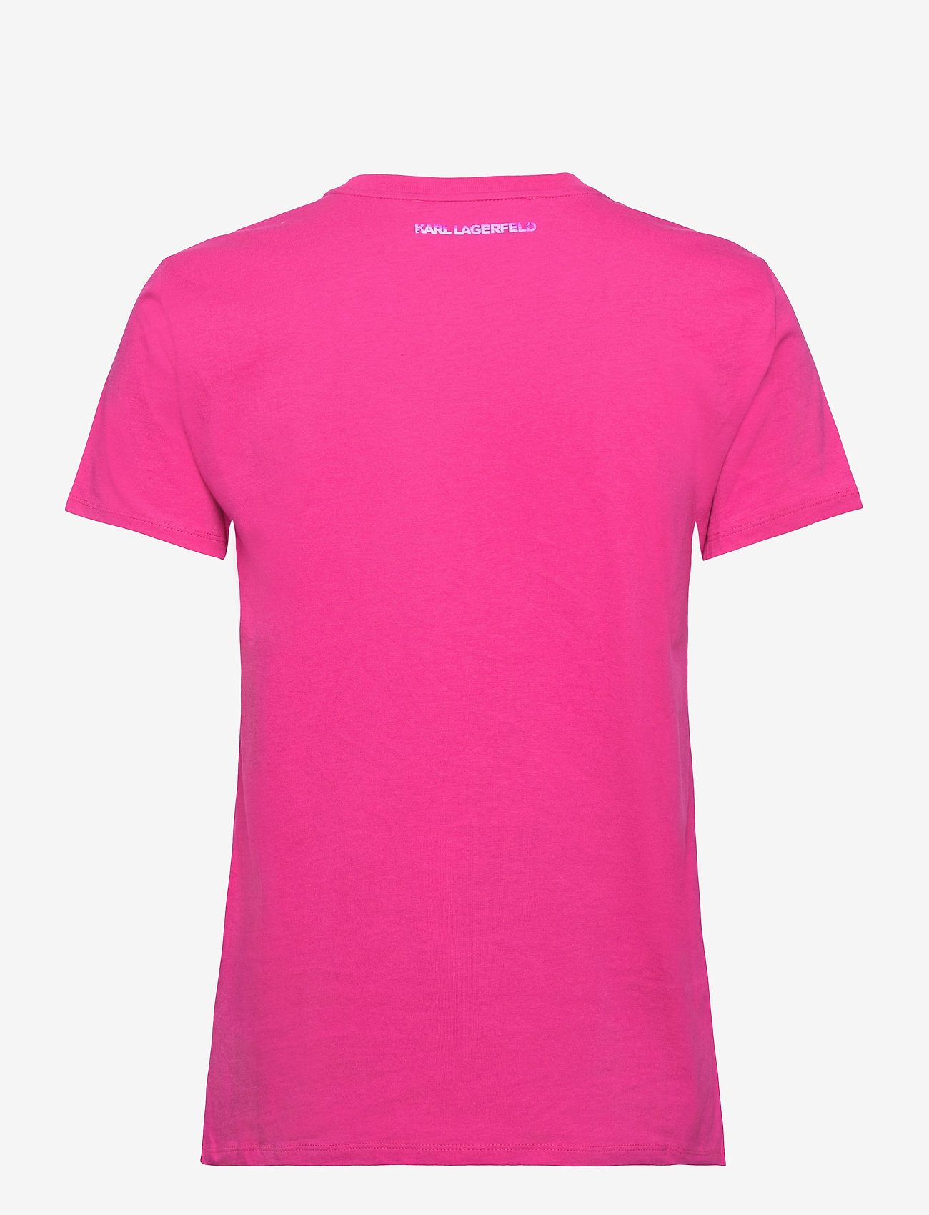 Karl Lagerfeld - Mini Ikonik Karl Patch T-Shirt - t-shirts - rose violet - 1