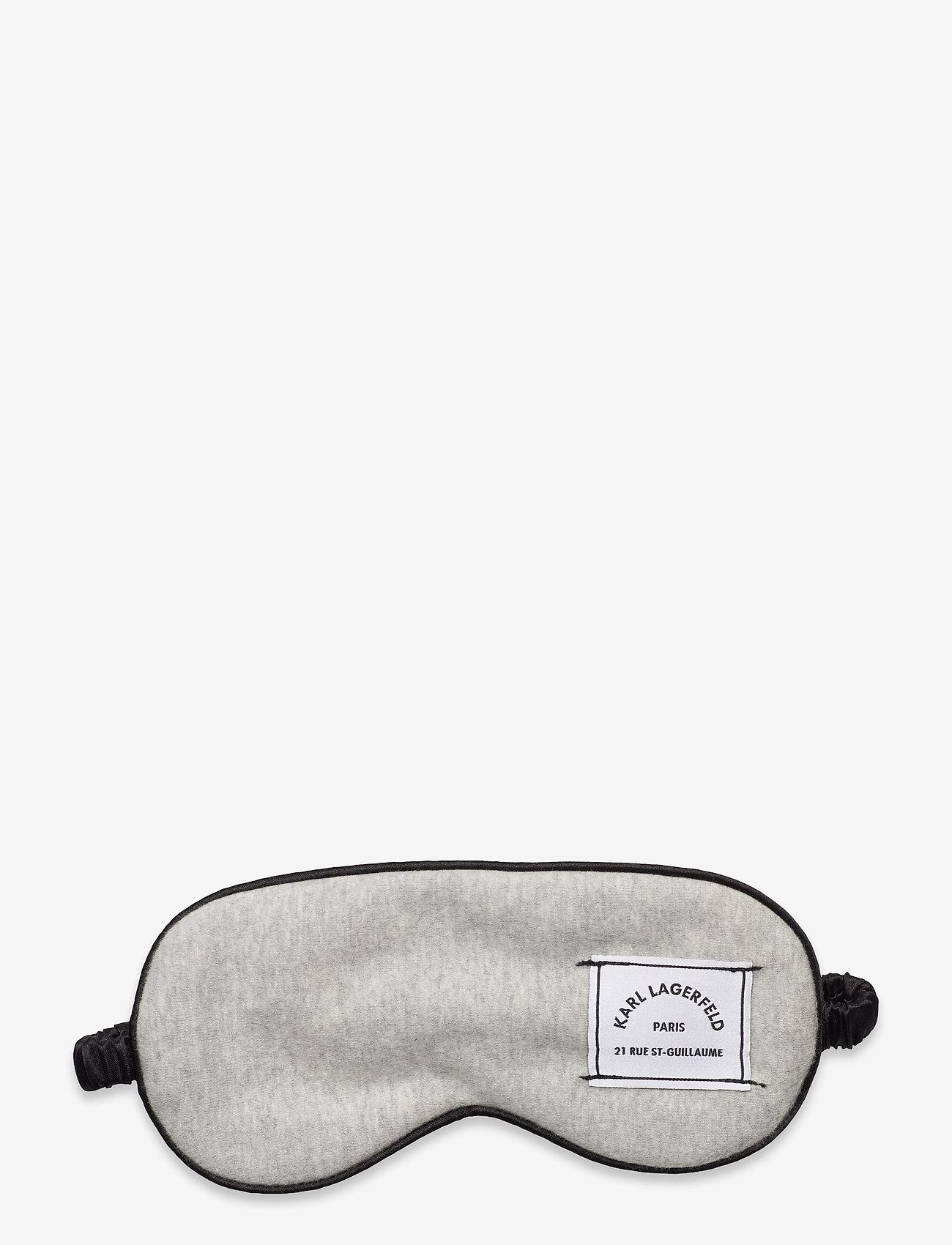 Karl Lagerfeld - k/lounge tetris eye mask - laukut - grey - 0