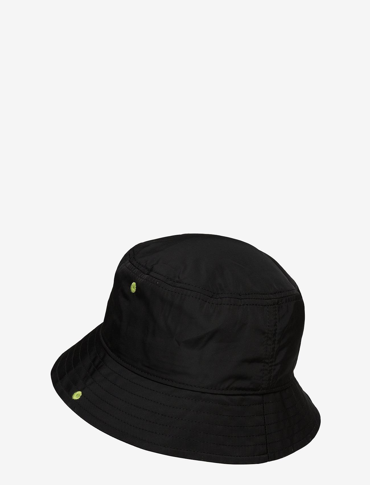 Karl Lagerfeld - Rsg Patch Bucket Hat - bøllehatte - black - 1