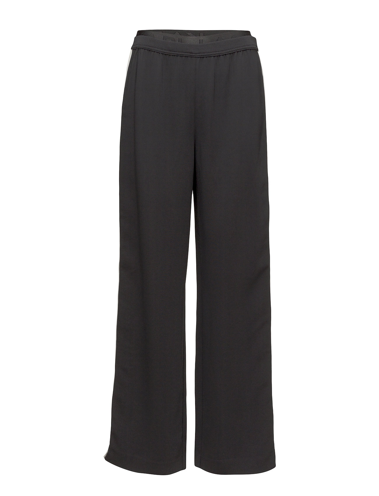 Image of Karl Lagerfeld-Wide Leg Logo Sweatpants Vide Bukser Sort Karl Lagerfeld (3406157749)