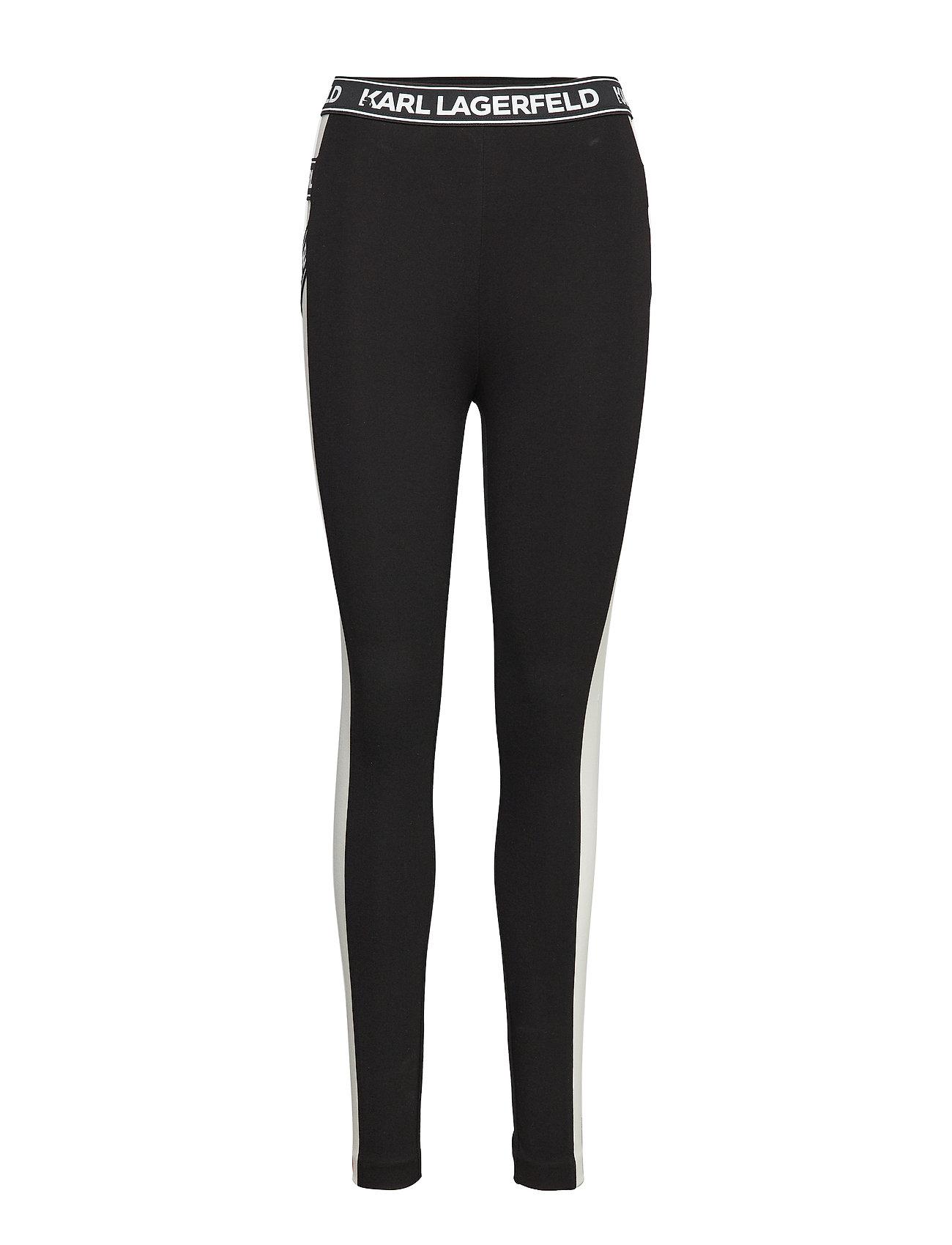 Karl Lagerfeld BiFärg Punto Legging W Logo Leggings & tights