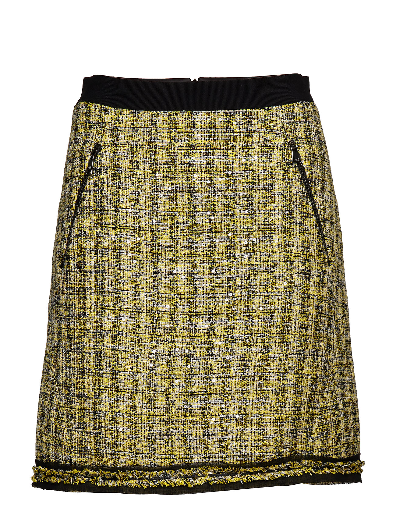 Karl Lagerfeld A-Line Boucle Skirt