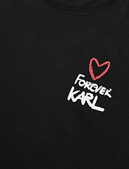 Karl Lagerfeld - forever karl t-shirt - t-shirts - black - 2