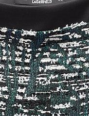 Karl Lagerfeld - Sparkle Boucle Skirt - korta kjolar - sprkl black bc - 2
