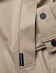 Karl Lagerfeld - Trench Coat W/ Logo Tape - trenchcoats - hummus - 3