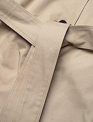 Karl Lagerfeld - Trench Coat W/ Logo Tape - trenchcoats - hummus - 4