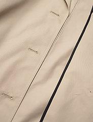Karl Lagerfeld - Trench Coat W/ Logo Tape - trenchcoats - hummus - 5