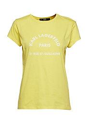 Rue Lagerfeld T-Shirt - GOLD