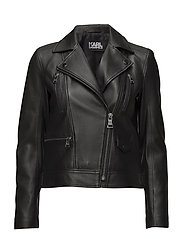 Ikonik Odina Biker Jacket - BLACK