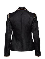 Tailored Twill Blazer W/Piping