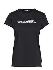 Ikonik & Logo T-Shirt - BLACK