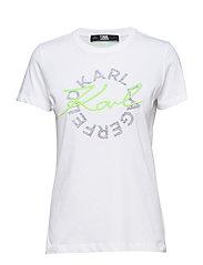 Neon Lights Dbl Logo T-Shirt