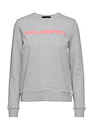 Neon Lights Logo Sweatshirt - GREY