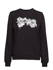 Orchid Logo Sweatshirt - 999 BLACK