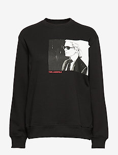 Karl Legend Sweatshirt - sweatshirts - black