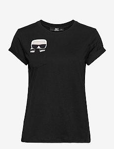 ikonik karl pocket t-shirt - t-shirts - black