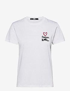 205W1702 - t-shirts - white