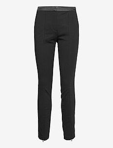 206W1007 - slim fit bukser - black