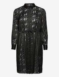 206W1302 - korta klänningar - black