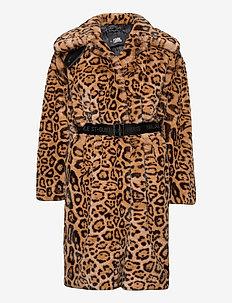 206W1509 - fuskepels - leopard print