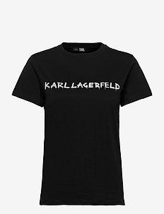 206W1701 - t-shirts - black