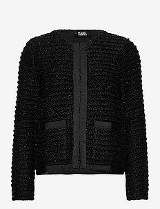 206W2004 - cardigans - black