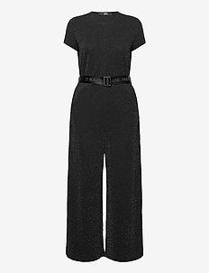 Sparkle Jumpsuit - buksedragter - sparkle black