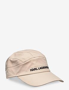 karl essential barret cap - kasketter - taupe