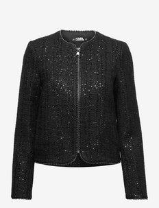 Sparkle Boucle Jacket - boucles - spa bl bouc
