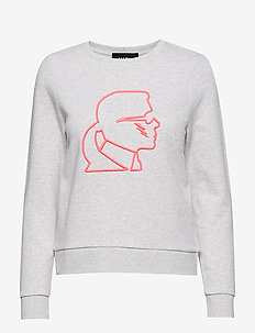 Karl Lightning Bolt Sweatshirt - GREY