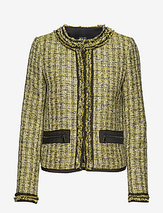 Boucle Jacket W/Pin - YELLOW