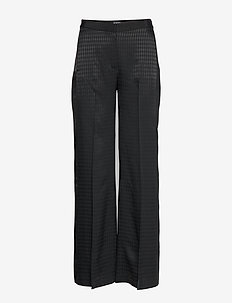 Pants W/ Karl Head Jacquard - 999 BLACK