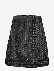 Sparkle Boucle Skirt - SPARKLE BOUCLE