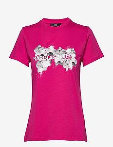 Orchid Logo T-Shirt - MAGENTA