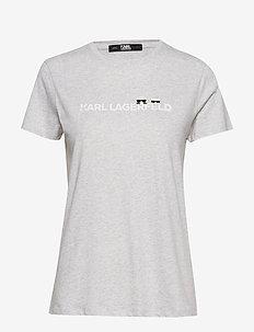 Ikonik & Logo T-Shirt - LGHT GR MEL