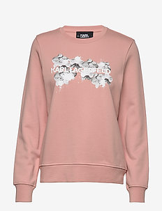 Orchid Logo Sweatshirt - MISTY ROSE