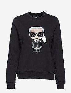 Ikonik Karl Sweatshirt - BLACK