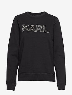 Karl Oui Sweatshirt - BLACK