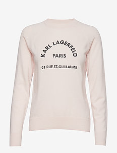 Address Logo Sweater - MISTY ROSE