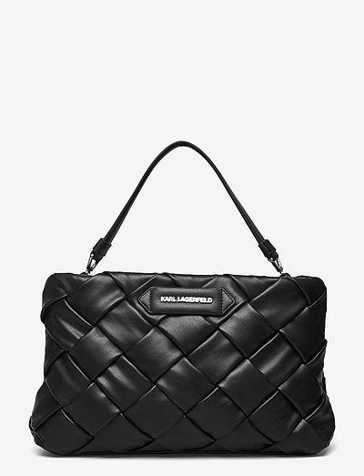 k/kushion braid clutch - väskor - black